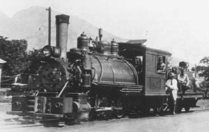 Early Pioneer Mill Train