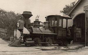 Lahaina Locomotive Restored - 1958