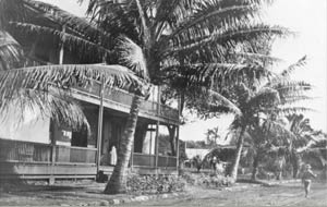 Old Lahaina Courthouse 1900