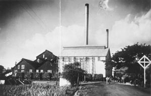 Pioneer Mill Lahaina in 1905