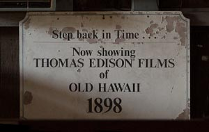 Edison Film Sign