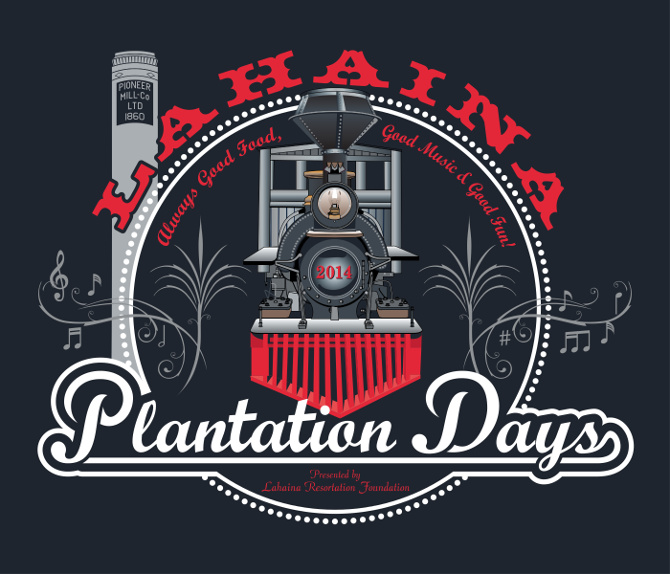 2014 Lahaina Plantation Days Logo