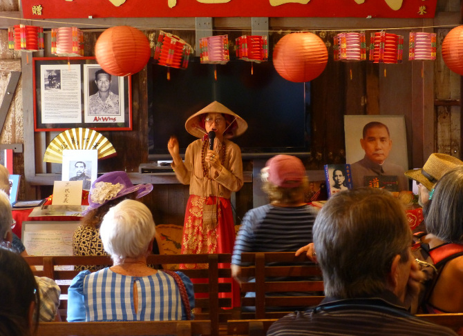 Sun Yat-sen presentation at Cookhouse in Lahaina