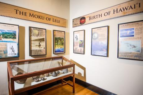 NOAA educational displays in Lahaina Heritage Museum