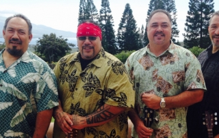 Koa band from Maui