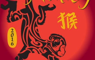 2016 Year of the Monkey Chinese New Year in Lahaina