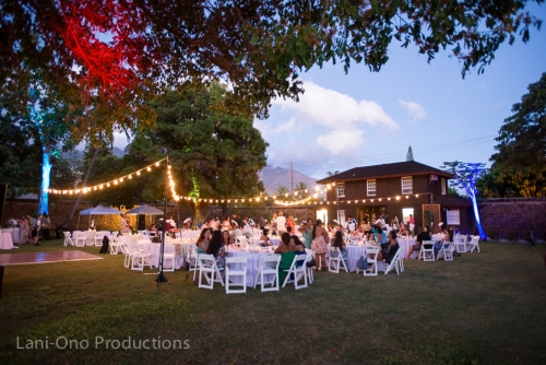 Old Lahaina Prison wedding reception 2
