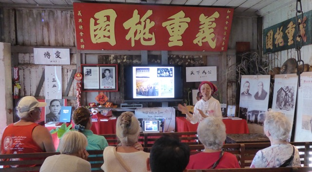 Dr. Busaba Yip presentation on Sun Yat-sen at festival in Lahaina