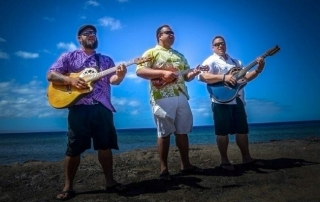 Matagi Trio on Maui w-Kimo, Marvin, Kalani