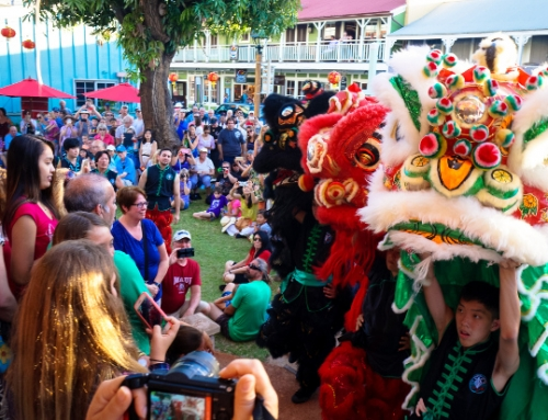 Chinese New Year in Lahaina to Ring in Year of the Rooster with Lions, Firecrackers & More!