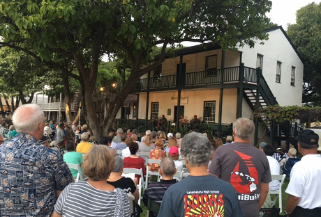 Hawaiian Music Series concert in Lahaina