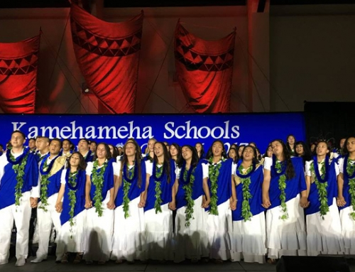 Kamehameha Schools Maui Hawaiian Ensemble Entertains at Free Concert in Lahaina