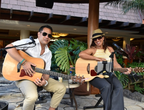 Lehua Kalima & Shawn Pimental Entertain at Lahaina's Free Hawaiian Music Concert