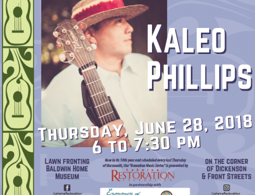 Hawaiian Music Series Welcomes Kaleo Phillips