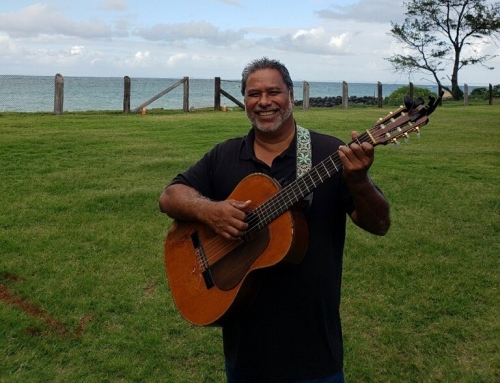 Mitch Kepa performs at Hawaiian Music Series