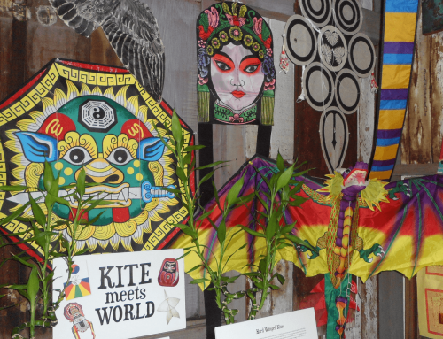 National Kite Month Exhibit at the Wo Hing Museum